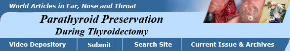 Parathyroid Preservation During Thyroid Surgery