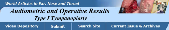 Indian Residency Programs - Type I Tympanoplasty - Results